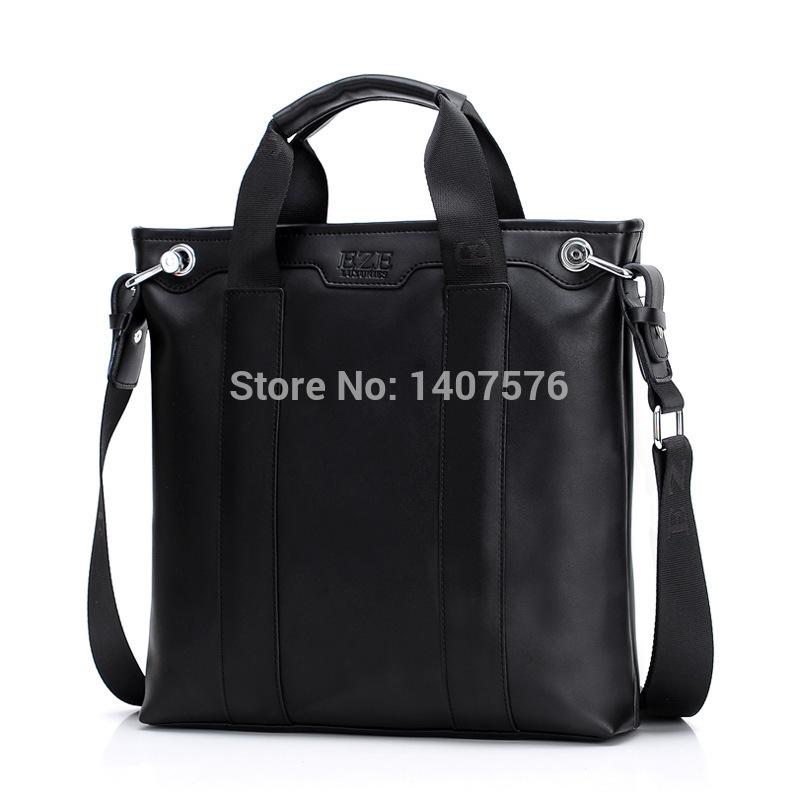 BG The best! hot sale Business men handbags korean high quality pu leather teenagers messenger bags vintage luxury portfolio(China (Mainland))