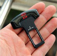 2PCS Car Logo Safety Seat Belt Buckle Safety Belts Clasp Plug Alarm Canceller Stopper for kia K2 K5 K3 K3S Rio Sportage Forte