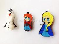3 models cartoon frozen pen drive plastic Olaf snow man usb flash drive real 2gb 4gb 8gb 16gb 32gb pendrive 10pcs/lot free ship