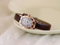 Women Dress Watch Vintage Synthetic Leather Strap Analog Quartz Sport Wrist Watches