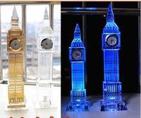 London's Big Ben model flash crystal simulation model of Big Ben