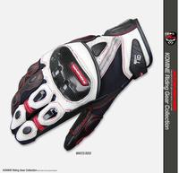 NEW motorcycle gloves KOMINE GK-160 short paragraph motorcycle riding gloves, racing gloves may touch Fangshuai