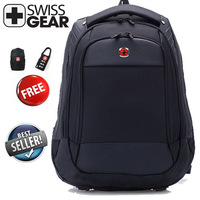 Stock Laptop backpack,Brand Wenger,SwissGear,15.6 inch notebook backpacks, computer bag, School bag backpack with good quality