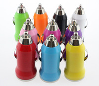 2000pcs 5V 1A Mini usb Car Charger for iPhone 3G 3GS 4 4S 5 Samsung Galaxy S3 S4 iPod Cell Mobile Phone Charger Adapter