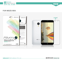 New Genuine Brand New Nillkin Anti - fingerprint screen protector come with retail package for MEIZU MX4