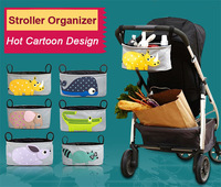2014 New Polyester Animal Baby Stroller Organizer for Newborn Baby Stroller Accessories Baby Carriage Pram Buggy Cart Diaper Bag