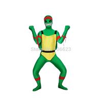Green Teenage Mutant Ninja Turtles Zentai Suit Superhero Costume Unisex Party Costume Halloween Costume Festival Costume
