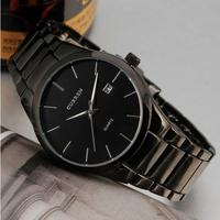 2014 New CURREN Brand Men Fashion Casual Watches Classic Auto Date Dial Quartz Wristwatches Full Steel Band Masculino Relogio