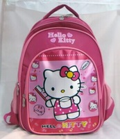 HELLO KITTY female girl Backpack school bag