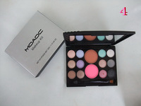 top quality!2014 women love brand high quality NO A260 12 colors eyeshadow+2 colors blusher free shipping