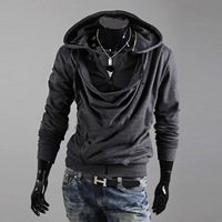 2014 Spring New coats mens outwear Special Hoodie Coat men clothes men's jacket fashion print hooded pullover sweatshirt WY14