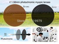 Ultra thin lens 1.56  aspheric resin myopic lenses membrane prescription eyewear photochromic lens