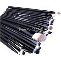 Hot Sale Pro Makeup Set Kits Powder Foundation Eyeshadow Eyeliner Lip Cosmetic Brushes Free Shipping 20pc/lot