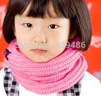 baby korean winter scarf Children collar Neck warm soft kid scarves for 1-10years WJ9 24x42cm