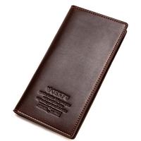 purse Multi-card bit thin Leather men wallets Men's leather wallet for men zipper card pack minimalist students salomon clutch