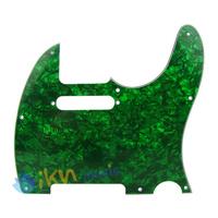 3Ply Green Pearloid Guitar Pickguard Tele Style Guitar Pickguard Green Pearl