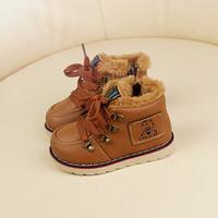 2014 non-slip waterproof winter baby boy sneakers  Foot length 13 ~ 16cm