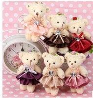 2014 new hot bear doll  plush toys Accessories doll  freeshipping