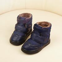 2014 winter baby boy snow boots plus velvet   Foot length 13 ~ 15cm