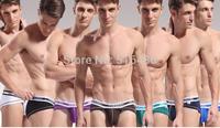 7 colors gay underwear 2014 SUPER HOT sexy Male ultra low waist bief  men's gay sexy bamboo fiber panties men T thong