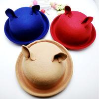 2014 edition of Mao Nemao  Curling caps  Cartoon hat candy color  All-match cap  001