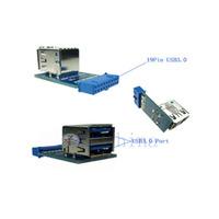 19pin to Dual USB3.0 Adapter card