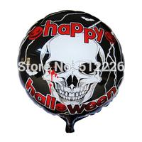 Halloween Bones Decorate Balloon, Mylar Balloon Helium Quality, 10pcs/lot, Halloween Party Supplies