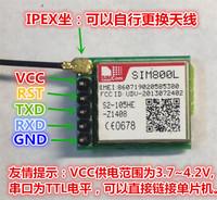 TCP IP SIM800L GPRS module and playing card slot microSIM card GSM