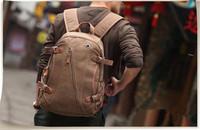 2014 New Hot Sale Men's Backpack CanvasTravel Bags School Laptop Bike Backpacks Casual Vintage Tactical Fashion Designer
