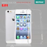 Free ship 10pcs original BEPAK  cases for  Apple iphone 5 / 5S  Transparent series + Retail box