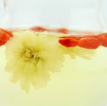Wolfberry chrysanthemum tea Zhongning medlar 50g 50g Grade A combination of Huangshan Gongju Free shipping