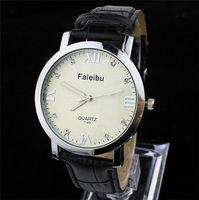 Genuine leather strap watches men luxury brand women dress watch unisex quartz wristwatch casual lady diamond clock
