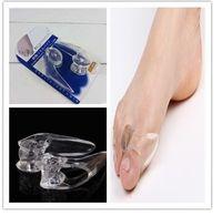 health Foot Care Tools soft silicone toe hallux valgus separator thumb valgus protector Straightener Corrector shaper  Pedicure