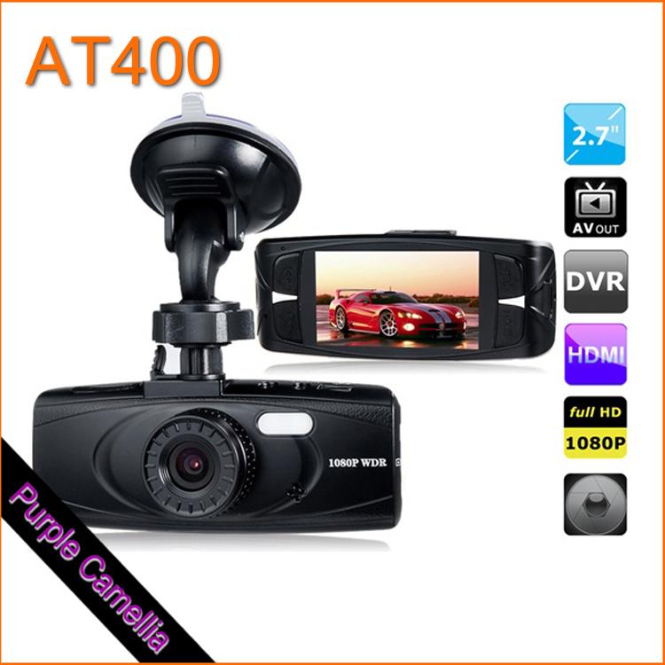 "Full HD Car DVR AT400 2.7"" LED Screen 96650, 1080P 6G Lens Vehicle Black Box DVR Recorder with Parking Monitor, G-Sensor CL0254P(China (Mainland))"