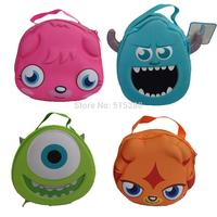Monsters University Student Lunchbox Kids Children Cartoon lancheira bag diagonal Ma Baoli Lunch Bags Waterproof Thermal