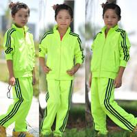 2014HOT! Girls Firebird brand sportswear sports suit long-sleeved track suit jacket + pants lesure