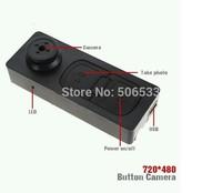 New Mini Hidden DV Camera Button Video PC DVR Voice Recorder DVR Cam 720*480 Black