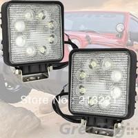 12-24v 24W LED Bar Offroad light IP67 6500K Automobile Motorcycle Spotlights 4x4 SUV ATV Van Bus Tractor Farming Fog headlights