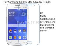 For Samsung Galaxy Star Advance G350E HD/Matte/Diamond Screen Protector Film Free Shipping