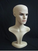 21'' Nw Male Head Mannequin Dummy Model Sunglasses Hat Accessory Retail Display