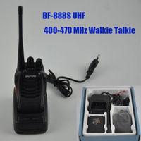 1pcs 16CH BF-888S UHF 400-470 MHz Walkie Talkie 2 Way Radio Long Range