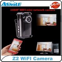 Mini WIFI DV DVR Security  Camera Z2 H.264 1080P WIFI Hidden hidden Camera WIFI MINI DV with Retail Packagemini Camcorders
