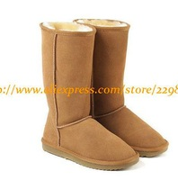 Women New Autumn Winter Snow Boots Lady Brand GG Genuine Leather Warterproof Warm Ski Boots 5815 More Colors