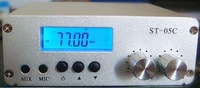 2014 New model 0.1W/ 0.5W FM transmitter stereo pll radio broadcast 77-108MHZ ST-05C 1 order free shipping