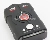 High Quality V8 Car Radar Detector Russian / English With LED Anti Radar 360 Degrees Vehicle Speed Control Free Shipping