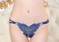 2PC/set Hot sale women's panties sexy g string women underwear panties lace panties knickers thongs in girls Hot sale Embroidery