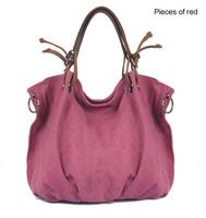 2014 New Canvas Bag fashion vintage shoulder bag women canvas big bag free shipping