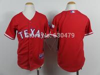 accept drop shipp. stitched cheap Texas Rangers  blank  youth/kid's   Baseball Jersey Jose Abreu baseball shirt
