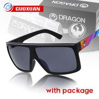 2014 Newest Retail with Original case Sports Sunglasses Men HOT Selling pop Brand Sun Glasses Dragon JAM 10 colors Gafas