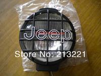 6 inch 12V 55W Car Offroad Vehicle 4WD 4x4 SUV Round Halogen spot head Fog light Tractor Truck Trailer work lamp